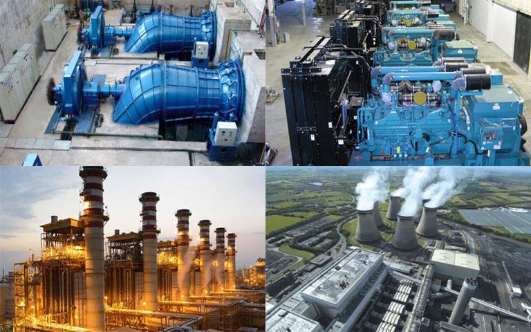 انواع نیروگاه های تولید برق